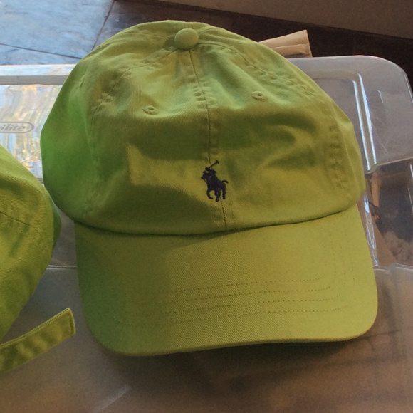 e83ea5d9d RALPH LAUREN Polo Accessories | Lime Green Baseball Cap Os | Poshmark